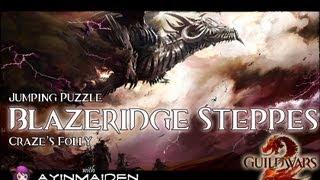 ★ Guild Wars 2 ★ - Jumping Puzzle - Blazeridge Steppes (Craze