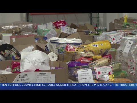 Food Banks Run Short On Space For Irma Donations