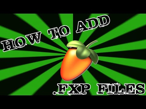 How to install .FXP files into Nexus on FL Studio