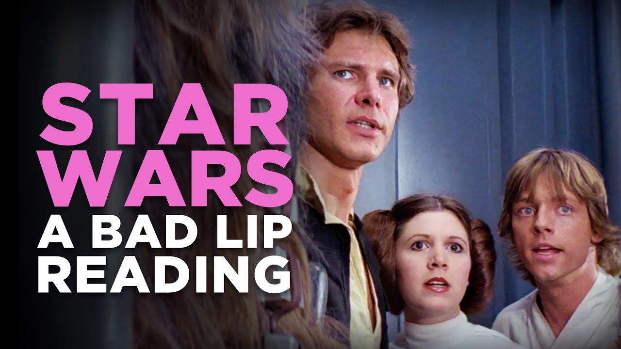 Star Wars A Bad Lip Reading Youtube