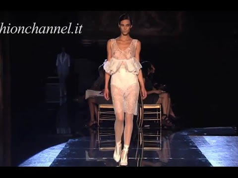 FRANCESCO SCOGNAMIGLIO SS 2012 Milan HD 2 of 2 pret a porter women by Fashion Channel