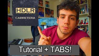 Cómo tocar CARRETERA en Guitarra | Aprende Natos y Waor FÁCIL y con TABS