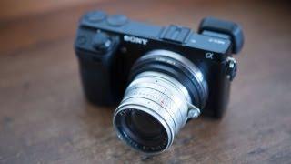видео Обзор цифровой камеры Sony Alpha NEX-7