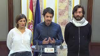 Declaraciones sobre la situación de la multinacional Alcoa tras reunión con la Ministra de Industria