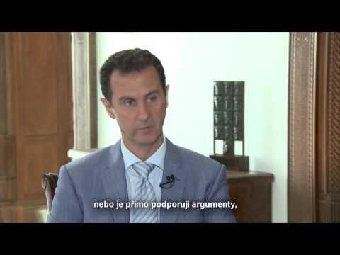 Bašár al-Asad - O chemických zbraních a situaci v Sýrii