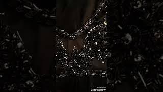 В процессе создания черного свадебного платья от VIRTU Atelier
