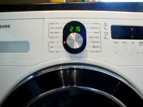 Samsung Wf8804rpa Diamond Washing Machine Service Cycle Mode