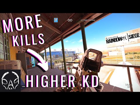 HOW to get MORE KILLS and IMPROVE your KD bAd.T5 - STAY OUT OF A SLUMP | Rainbow Six Siege Gameplay