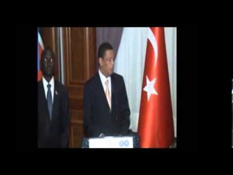 Inauguration of Embassy of Republic of South Sudan in Turkey