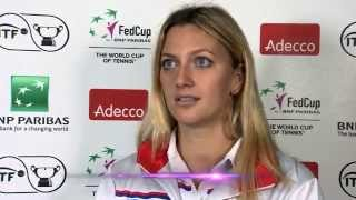 2014 Fed Cup Final: Czech Republic and Germany pre-draw conferences
