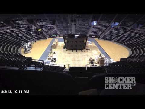 2013 Charles Koch Arena Video Board (Installation - Part 2)