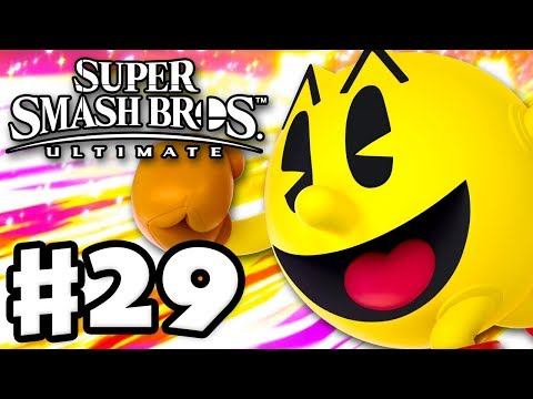 Pac-Man! - Super Smash Bros Ultimate - Gameplay Walkthrough Part 29 (Nintendo Switch)