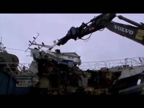 Видео Утилизация судов