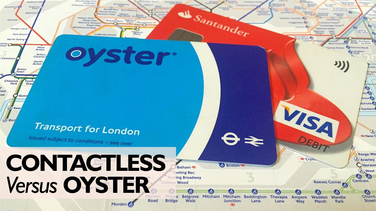 Image result for oyster contactless