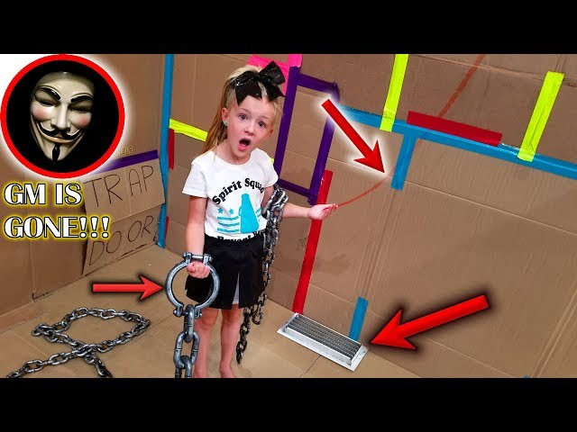 Game Master Box Fort Prison Escape!!! Is Project Zorgo Still in Our House?