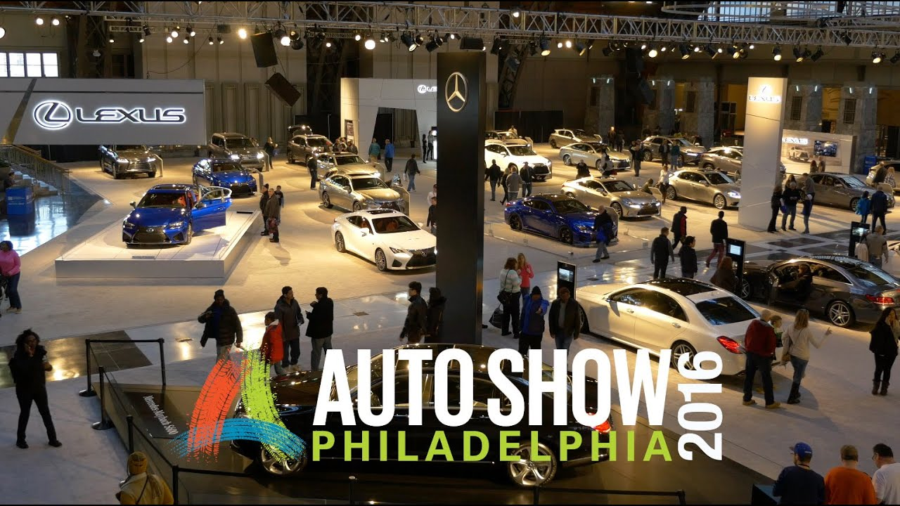 Philly Auto Show 2016 Recap In 4k Cars Tech By Jdm City Youtube