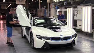 BMW i8 - Rolling off the production line
