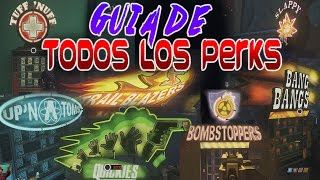Guia de Perks en Zombies in Spaceland | Tips & Trucos