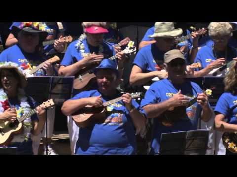 Ukulele Festival Hawaii 2013 -- Central Coast Ukulele Club