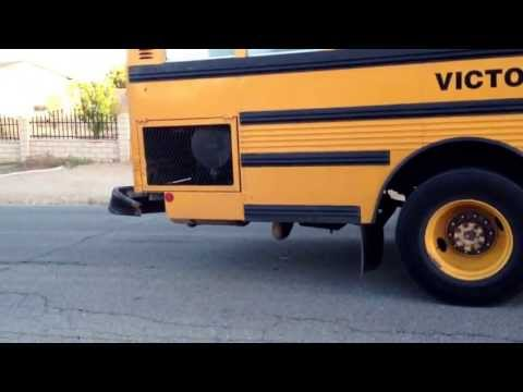 Lake view school buss accident in Victorville.
