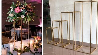 DIY rectangle stand / wedding centerpiece / reception / lantern / aisle ( not dollar tree )