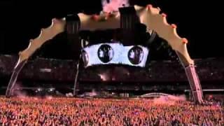 U2 360 BRASIL - MORUMBI SÃO PAULO - ABERTURA DAVID BOWIE SPACE ODDITY 13/04/2011