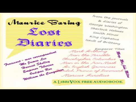 Lost Diaries | Maurice Baring | Epistolary Fiction, Fictional Biographies & Memoirs | English | 1/2