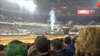 2014 National Farm Machinery Show Tractor Pull 2/13/14