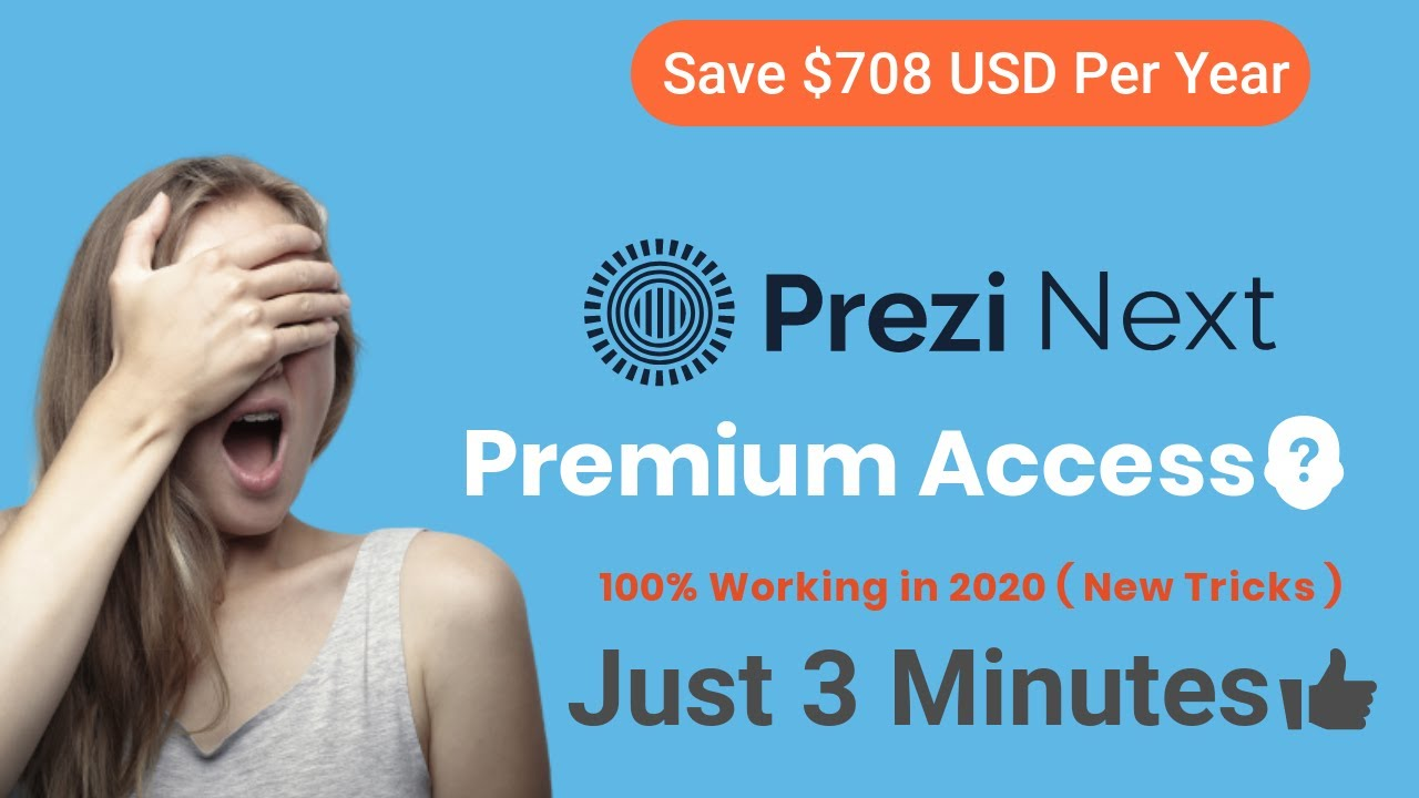 How to Get Prezi Premium Account [FREE] for Lifetime – 2020 TRICKS🔥