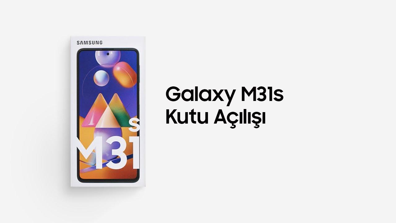Galaxy M31s Kutu Açılımı   Samsung