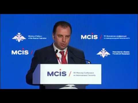 Выступление Министра обороны Республики Армения Вигена Саргсяна