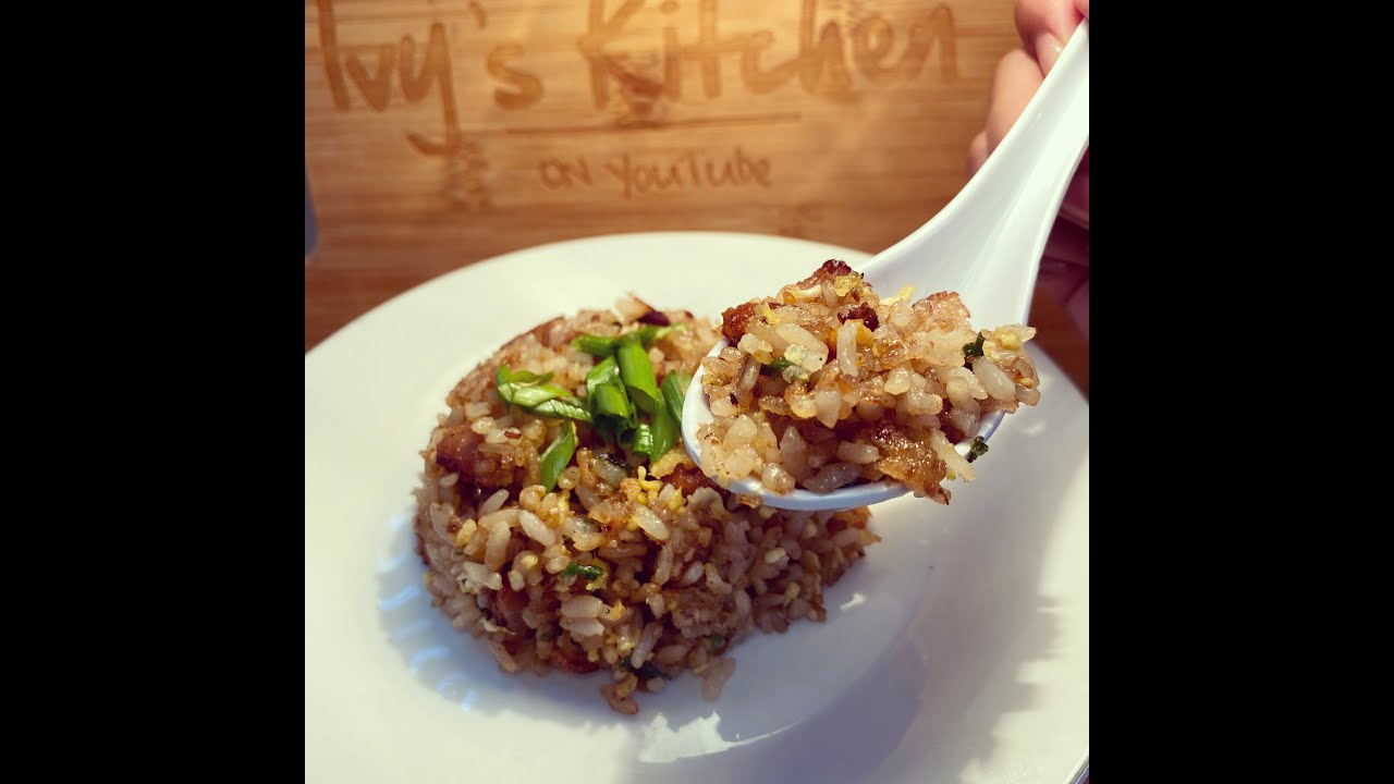 Pork Chashu Fried Rice Youtube