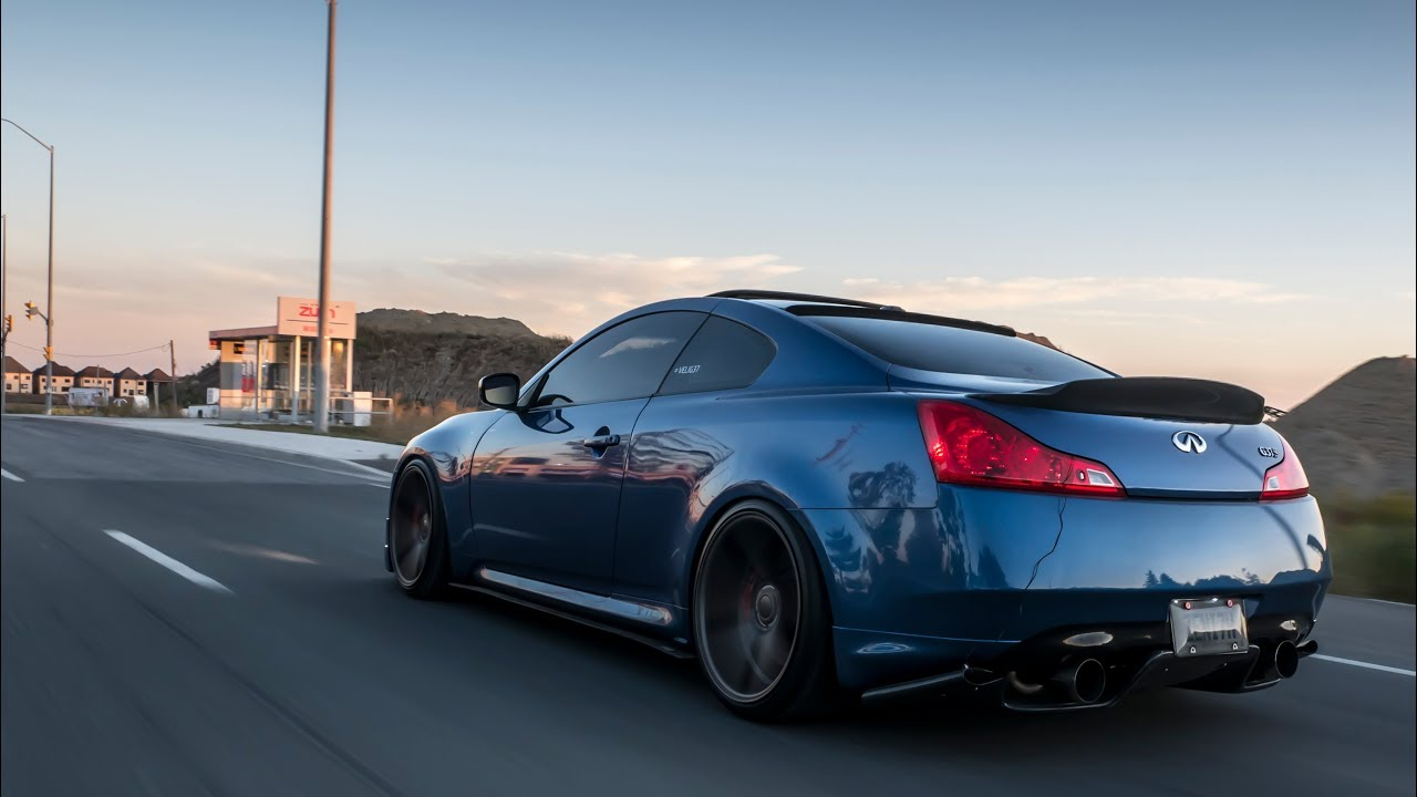 Drifting And Donuts W Modded G37s Youtube