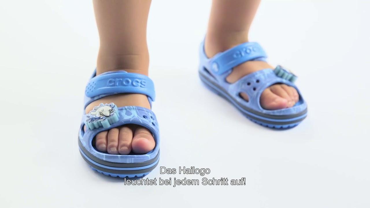 Crocs crocband II LED gyerek szandál