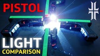 Pistol Light Comparison - Surefire x300u, XC1, Streamlight TLR, and Inforce APL