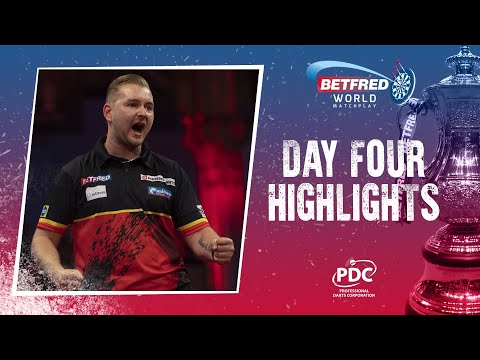 A MATCHPLAY RECORD! Day Four Highlights   2021 Betfred World Matchplay