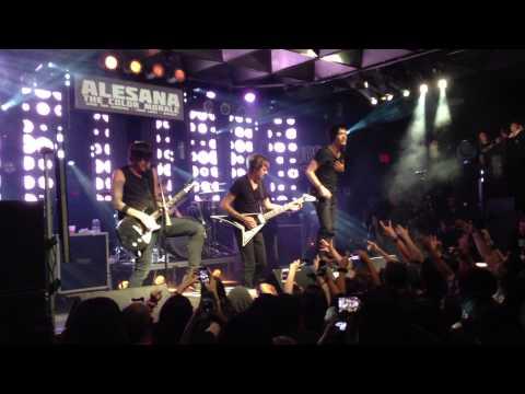 Alesana Live Full Set 2013 Fort Lauderdale, Florida @ Culture Room HD 07/01/13 Shawn Milke
