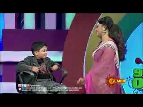 Small boy comments on Anchor Uday bhanu live show hd 1080 p HD watch now