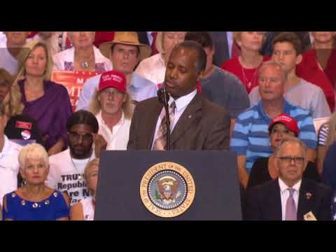 WOW: Ben Carson DELIVERS THE SPEECH OF A LIFETIME at President Donald Trump Rally Phoenix, Arizona