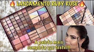 LANÇAMENTO RUBY ROSE: INSPIRATION KIT   A PALETA MAIS COMPLETA QUE TESTEI!