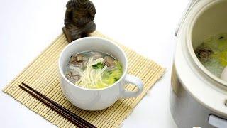 Китайский суп в мультиварке  Китайская кухня