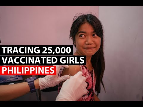 PHILIPPINES | Tracing 25,000 Girls For Repeat Vaccinations