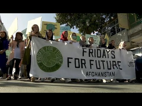 شاهد: مسيرة في كابول من أجل المناخ  - نشر قبل 2 ساعة