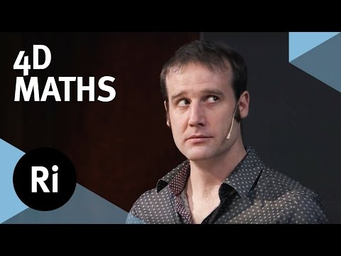 Four Dimensional Maths: Things to See and Hear in the Fourth Dimension with Matt Parker