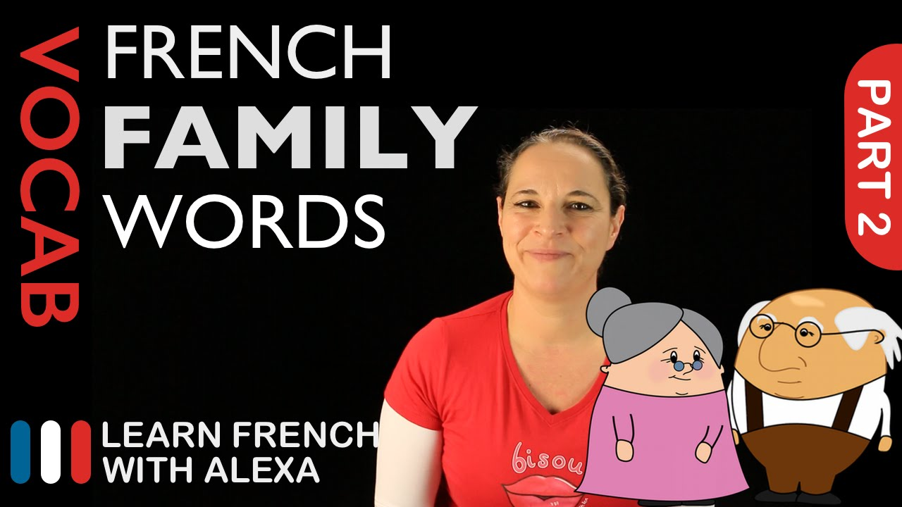 Family Words in French Part 2