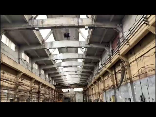 Остекление зенитного фонаря в промышленном здании