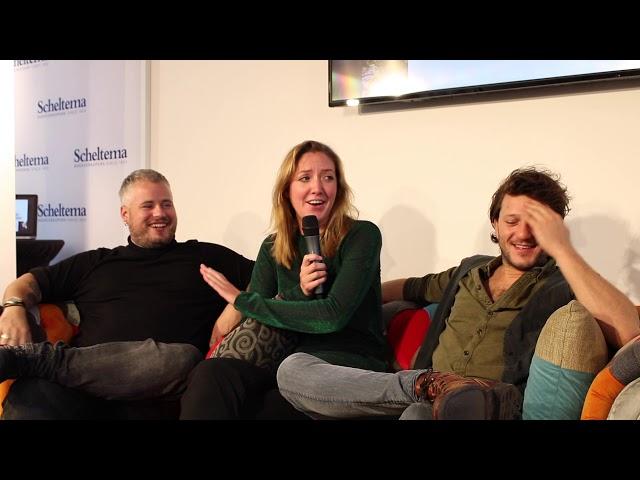 Johanneke, Freek en Guillaume van de Breda Horeca groep in Amsterdam