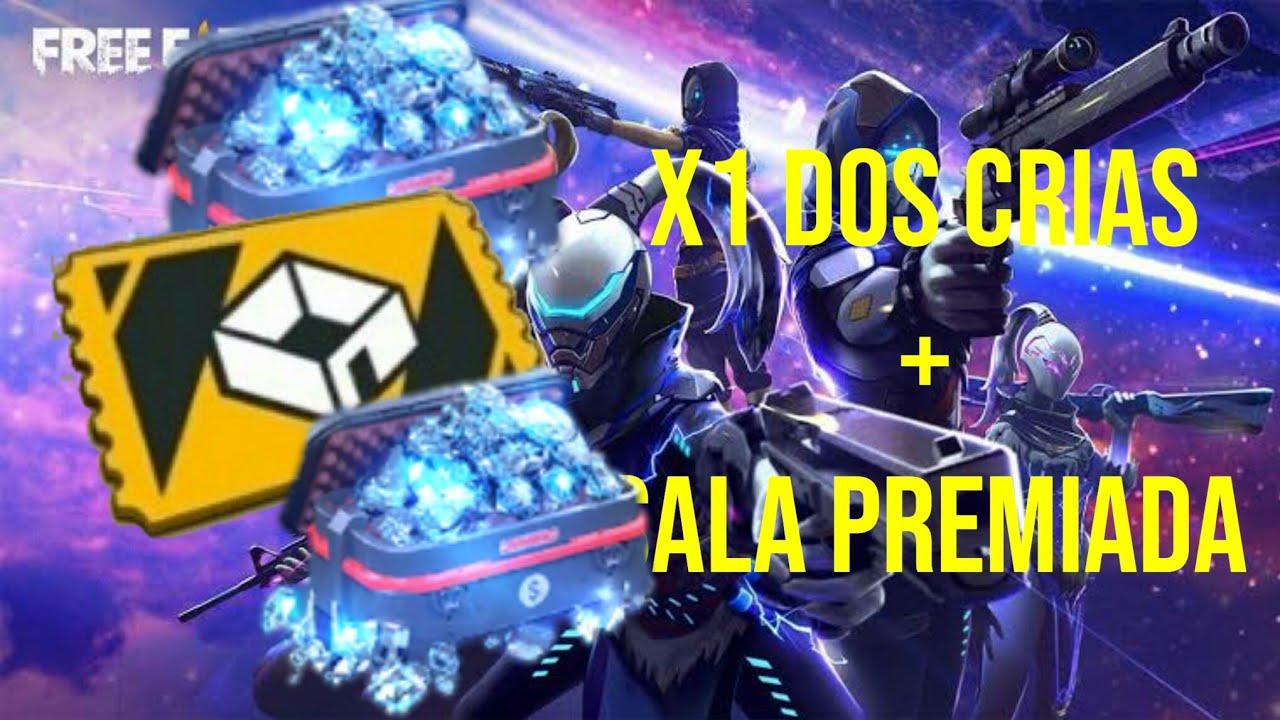 Sala Premiada Ao Vivo X1 Dos Crias Ao Vivo Free Fire