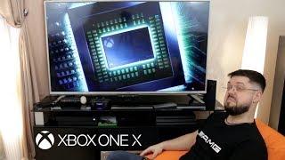 Синтоловый ХУАН Х | Топ или, все таки, бесполезное говно? Обзор Xbox One X с распаковкой