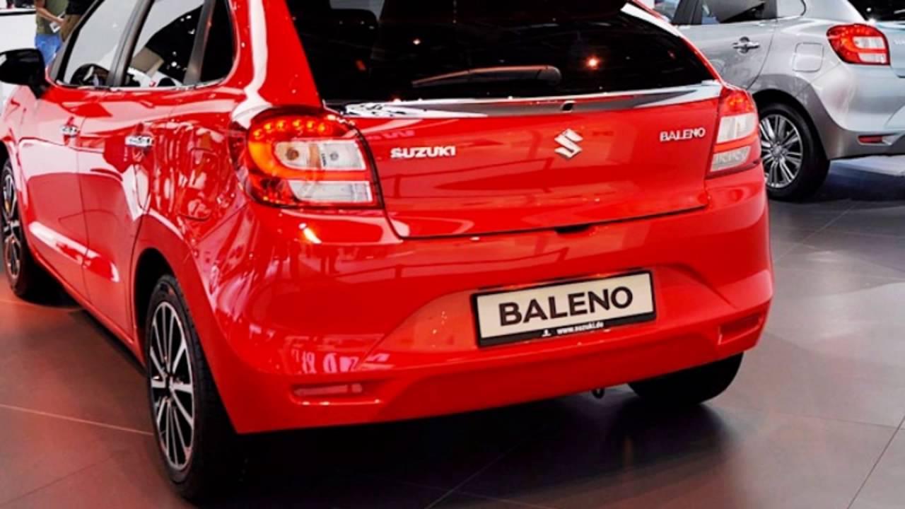 2016 Suzuki Baleno Fire Red Youtube